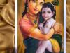 Krishna-Yasoda-Painting-meghna-unnikrishnan
