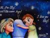 anna-elsa-childhood-painting-frozen-meghna-unni