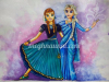 elsa-anna-from-frozen-in-indian-wear-painting-meghna-unni