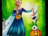 elsa-olaf-halloween-painting-meghna-unni