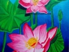 lotus-flower-painting-acrylic-on-canvas-meghna-unni