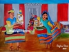 poikkal-kuthirai-attam-painting-meghna-unnikrishnan-chennai