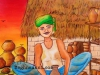 potters-wheel-painting-by-meghna-unni