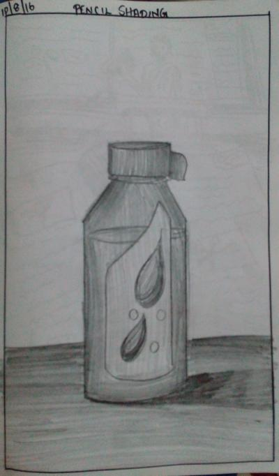 bottle-object-drawing-meghna-unni