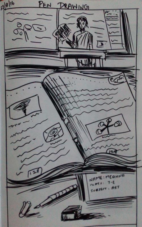 classroom-pen-drawing-meghna-unni