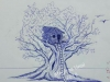 Tree-house-Ballpen-sketch-by-Meghna-Unnikrishnan