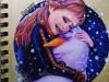 Anna-hugs-Olaf-painting-meghna-unni