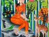 shakunthala-pencil-colour-meghna-unni