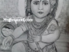 baby-krishna-pencil-sketch