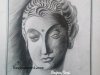 buddha-pencil-sketch-meghna-unnikrishnan