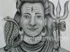 lord-shiva-pencil-sketch-meghna-unni