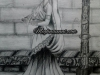 royal-lady-pencil-sketch-meghna-unnikrishnan