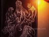 Maa-Chandraghanta-Devi-Painting-by-Meghna-Unni