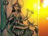 Maa-Mahagauri-Devi-painting-by-meghna-unni