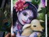 happy-janmashtami-baby-krishna-painting-meghna-unni