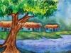 serene-village-scenery-water-colour-meghna-unni