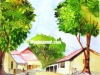 simple-village-scene-water-color-painting-meghna-unni