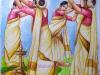thiruvathira-painting-by-meghna-unnikrishnan-2021