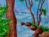 waterfalls-nature-painting-water-color
