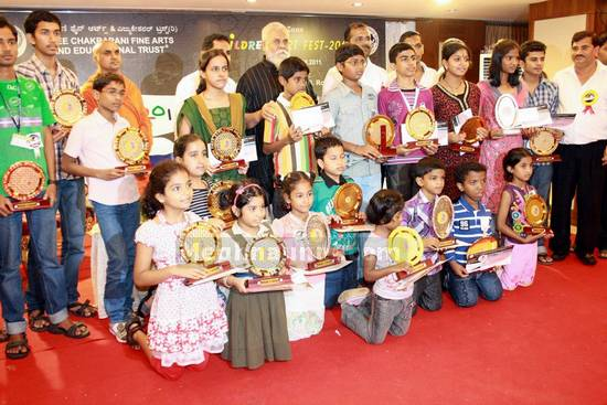 Shree Chakrapani Fine Arts South Zone Children's Art Fest-2011