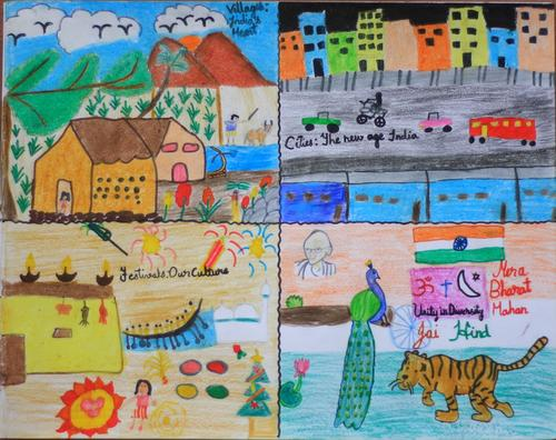 Apni Pathshala Foundation Art and essay competition 2011