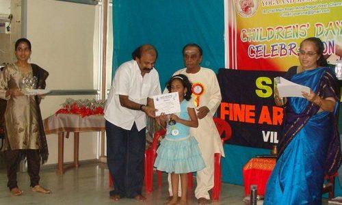 Asana Andiappan Yoga Centre Children's Day Contest
