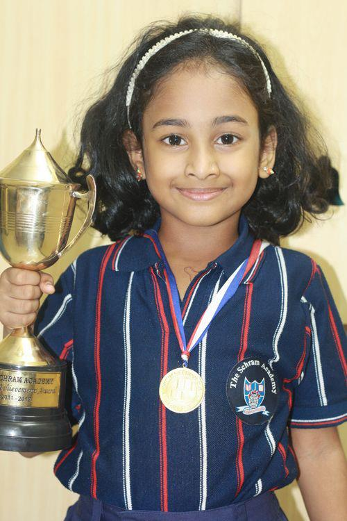 Meghna won Special Achievement Award & General Proficiency Gold Medal