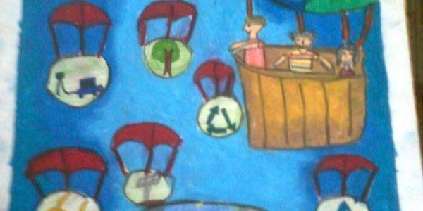 Environment Protection Drawing Contest at Vadapalani