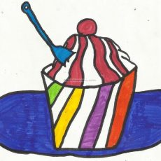 Meghna's Ice Cream Drawings