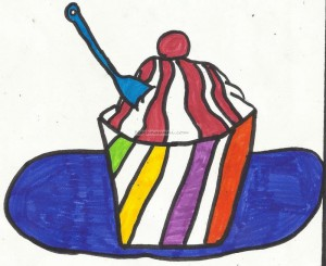 Meghna's Ice Cream Drawings