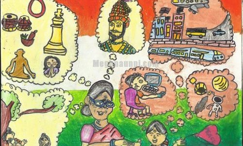 Meghna wins Dessin Academy Online Drawing Contest