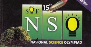 15th National Science Olympiad NSO 2012