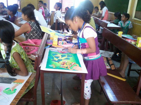 Ysmen Club Anna Nagar West 19th Drawing Competition 2012-13