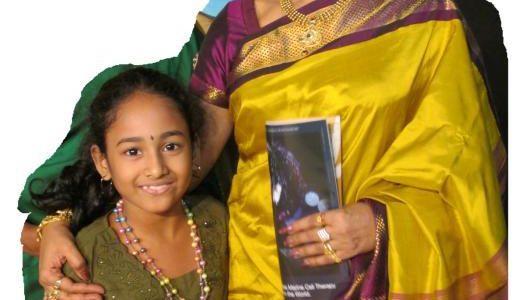 Meghna with Smt. Sudha Raghunathan