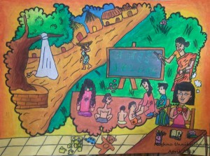 Apni Pathshala Drawing Competition 2013