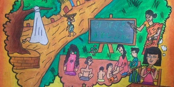 Apni Pathshala Drawing Competition 2013