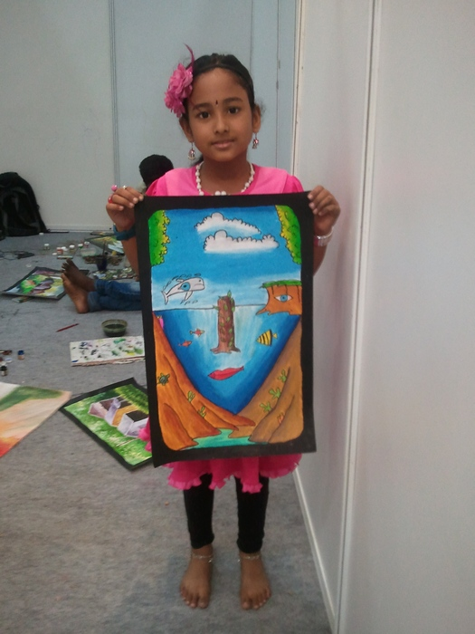 Meghna's Cake Show Drawing Contest Picture