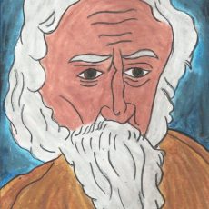 Rabindra Nath Tagore Portrait