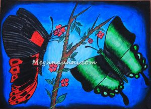 Titlee – The Butterfly – 2013 Drawing Competition
