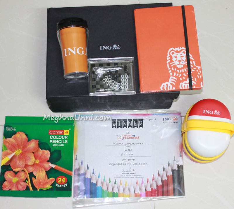 ing-vysya-bank-contest-gifts