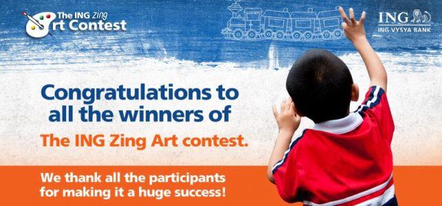 ING ZING Art Contest Winners
