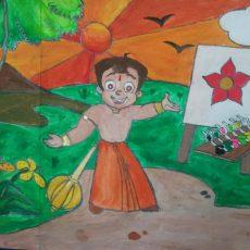 Wins Rangeela Chhota Bheem Send a Slogan Contest