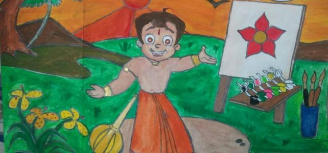 Wins Rangeela Chhota Bheem Send a Slogan Contest
