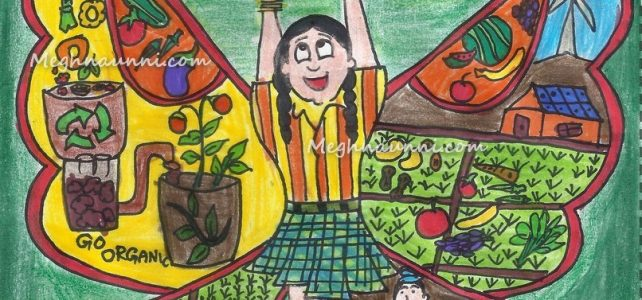 Food for a Healthy World Painting by Meghna