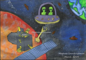 AstroSpace Drawing Competition March 2014 Winner