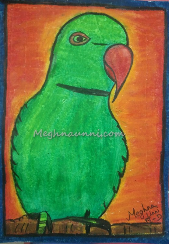 parrot-by-meghna
