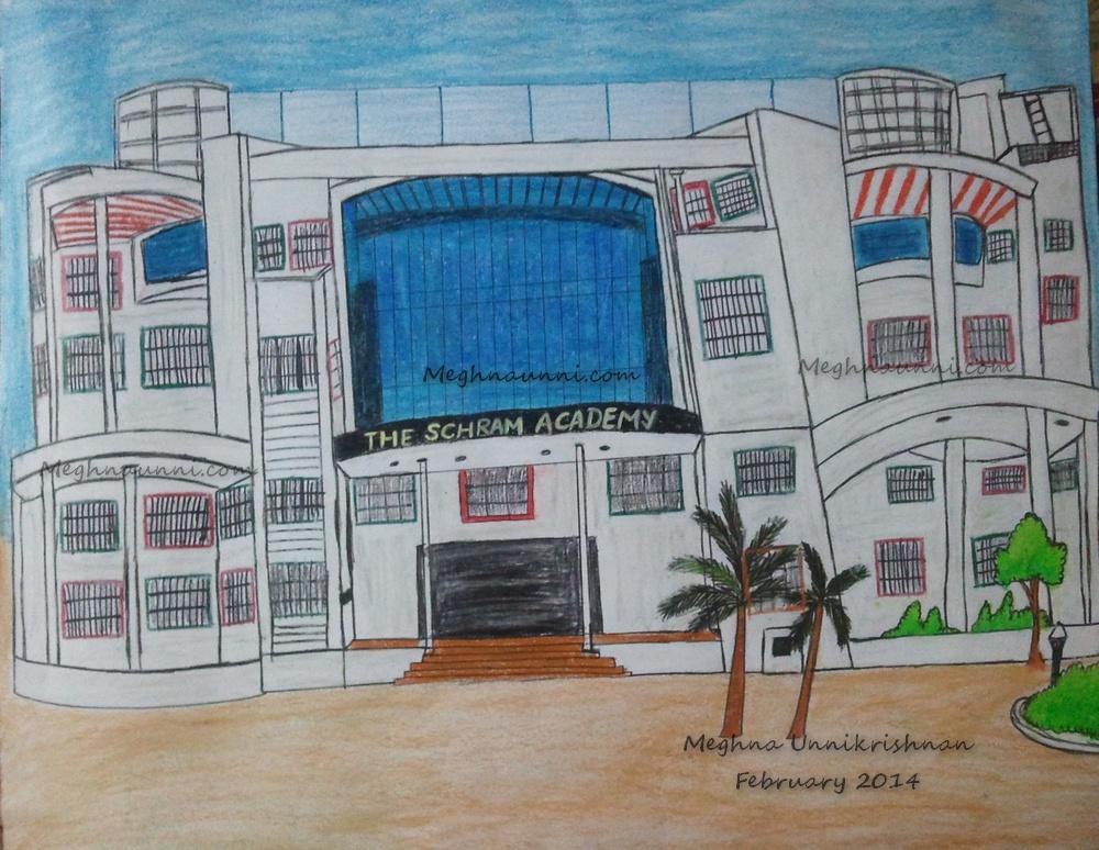 the-schram-academy-drawing-by-meghna-unnikrishnan