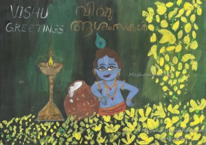 Happy Vishu Greetings for all of you