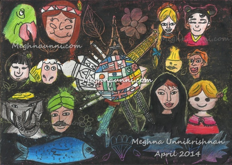 Won 7th GreenBees France drawing contest 2014