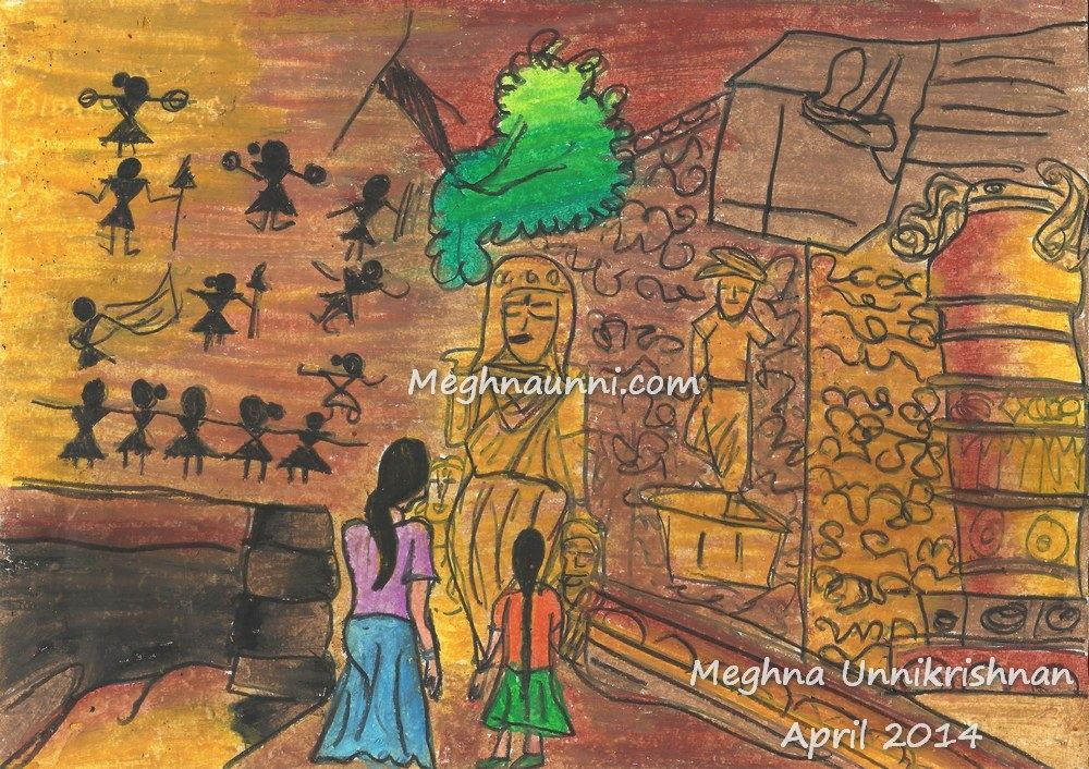 Caves Paintings by Meghna
